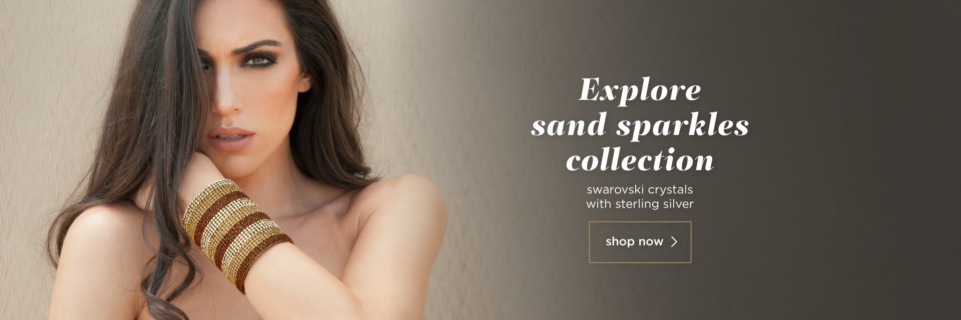 fashion handcrafted jewelry collection - sand sparkles - blingsense