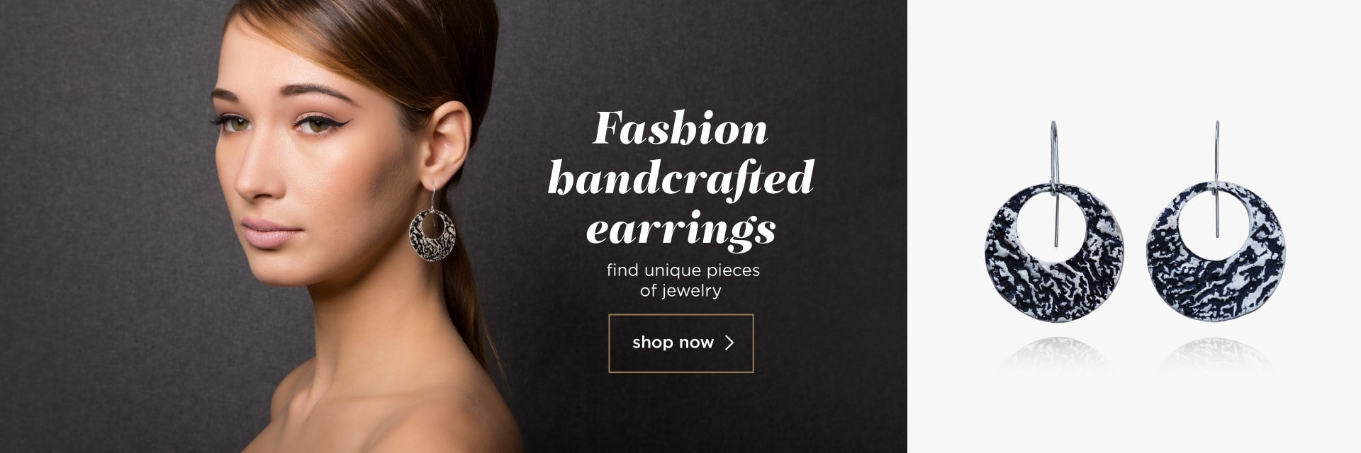 fashion handcrafted earrings - blingsense