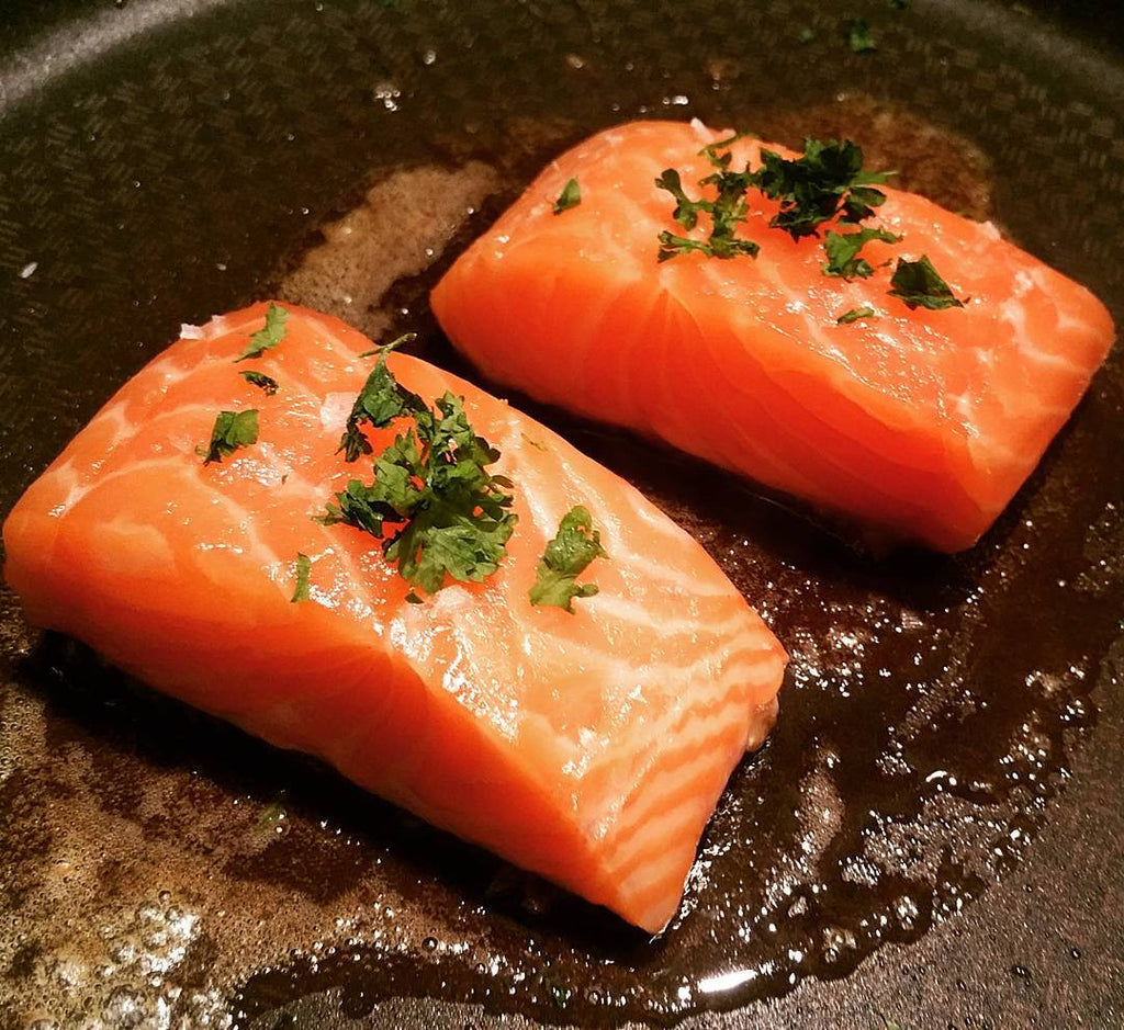 Salmon and Salt
