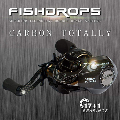 FishDrops™ - Introducing The World's Lightest Carbon Fiber Baitcasting Reel + FREE BONUS LURE!