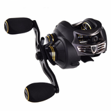 Stealth Super Light Carbon Body Fresh/Salt Water Baitcasting Fishing Reel