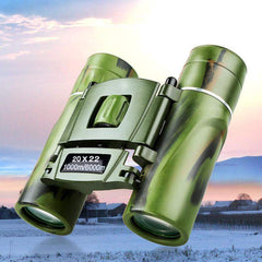High Magnification Mini Camo Binoculars Telescope Night Vision For Wildlife-Score Discount Fishing Supplies