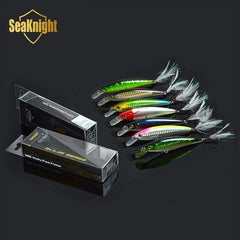 Fishing Lure Brand New 2016 SeaKnight 7pcs Minnow 110mm 13g 1.5M