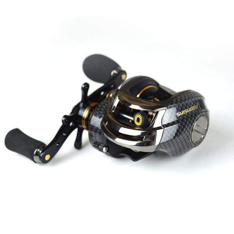 Fishing Baitcasting Reel 2018 18 BB Ball Bearings Double Brake System Left/Right Hand Casting