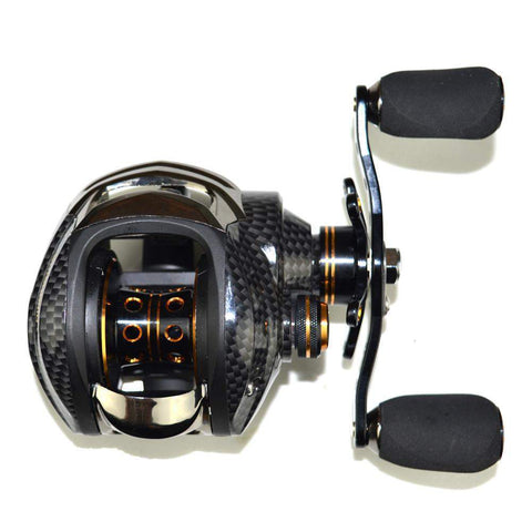 Baitcasting Reel 2018 18 Ball Bearings Double Brake System