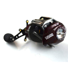Fishing Baitcasting Reel 2016 18 BB Ball Bearings Ultra Light Fast 6:3:1 Casting Left/Right Hand