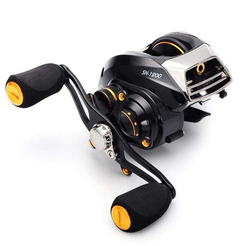 SeaKnight Baitcasting Reel SK1200 14BB Double Brake System Right Hand Bait Casting