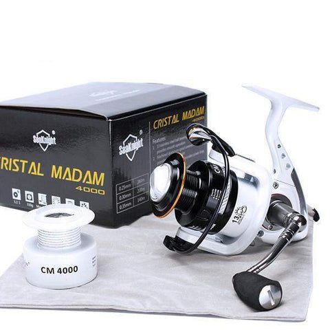 SeaKnight CM3000-4000 14BB Spinning Reel 5.2:1 Carp + Spare Spool