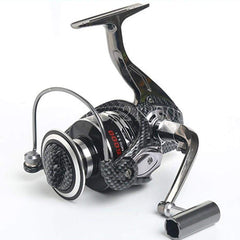 Large Full Metal Baitrunner Saltwater Spinning Reel 12+1 Ball Bearings