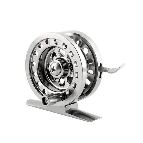 Fly Fishing Wheel Metal Spool Centrifugal Droplets Round Bearings