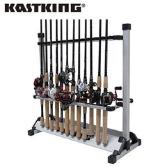 KastKing Portable Aluminum Fishing Rod Rack-Score Discount Fishing Supplies