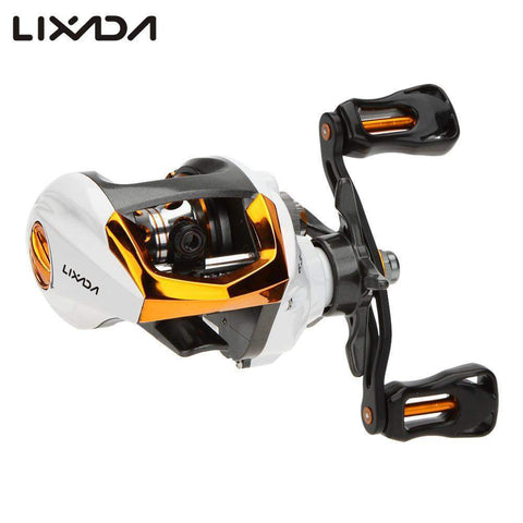 Lixada™ - 12+1 BB Baitcasting Fishing Reel Fly High Speed with Magnetic Brake System