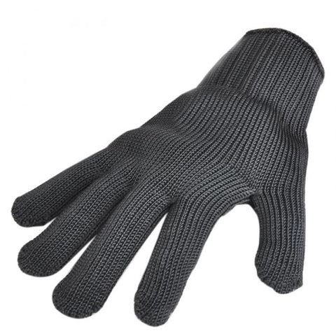 Anti-Cut Steel Wire Safety Gloves-Score Discount Fishing Supplies