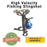 High Velocity Fishing Slingshot-Score Discount Fishing Supplies