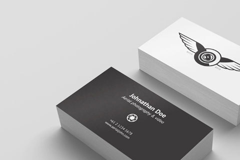 Business Cards - Black & White