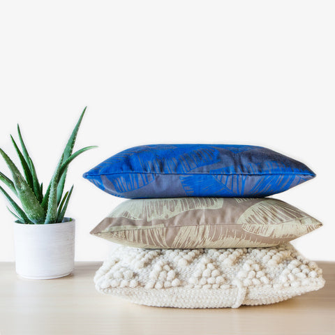 TROPICAL PILLOW - OCEAN -  - 2