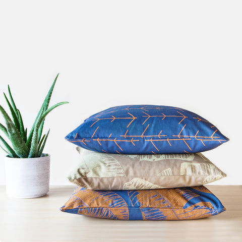 TROPICAL PILLOW - OCEAN -  - 3