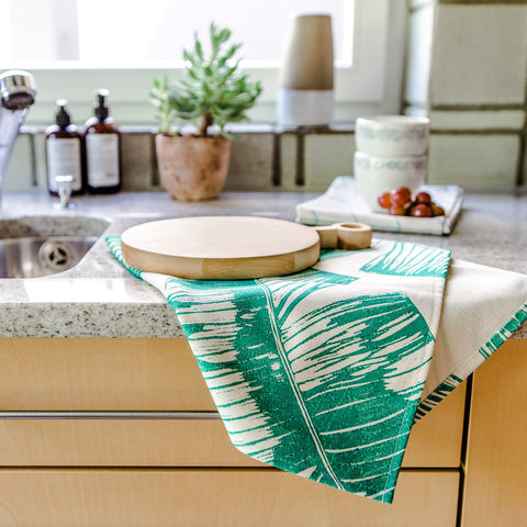 TROPICAL KITCHEN TOWEL - MELON -  - 2