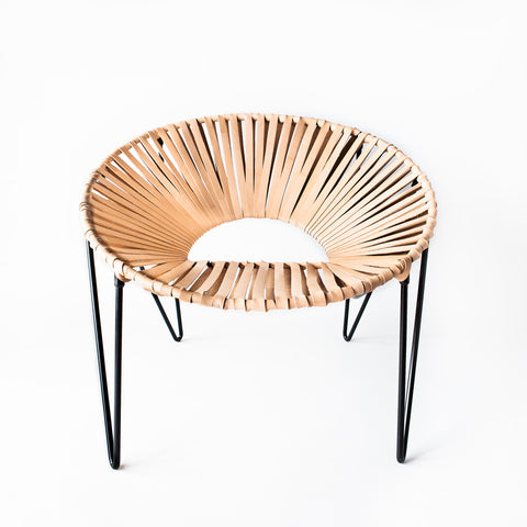 CALI CHAIR - BLACK & NATURAL -  - 2