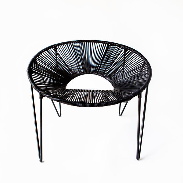 CALI CHAIR - BLACK & BLACK -  - 1