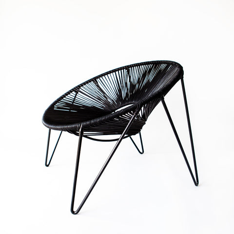 CALI CHAIR - BLACK & BLACK -  - 2