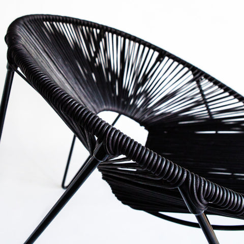 CALI CHAIR - BLACK & BLACK -  - 3