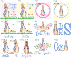 Peter Rabbit Release Designs