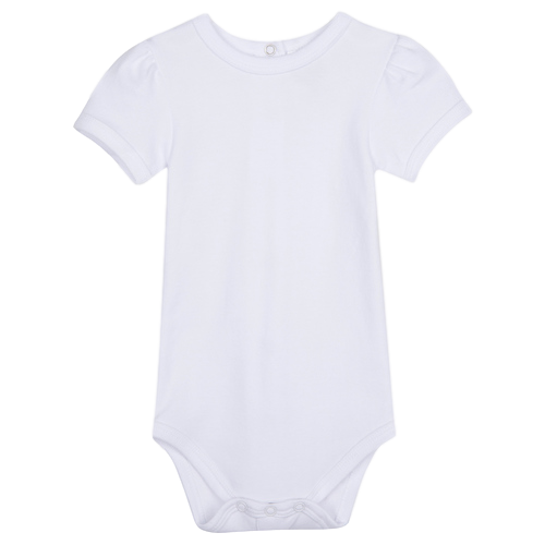 Girl's Short Sleeve Bodysuit
