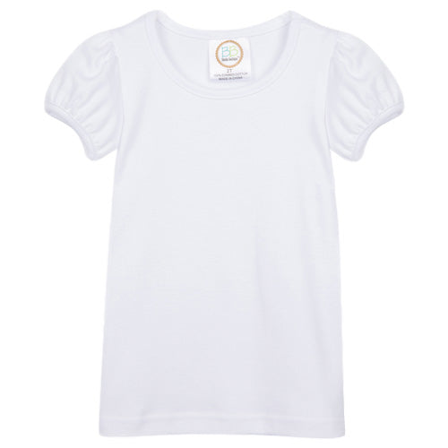 Girl's Short Sleeve Plain (No Ruffle)