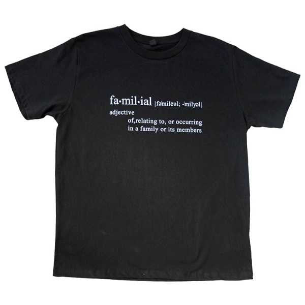 Familial T-Shirt (Black)