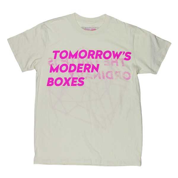 TOMORROWS MODERN BOXES CREAM T-SHIRT