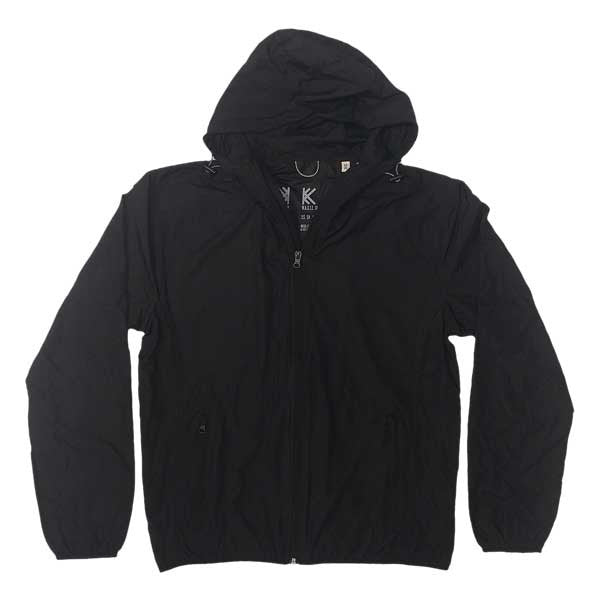 CUT OUT LOGO WIND PROOF JACKET