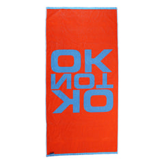 OK NOT OK BEACH TOWEL