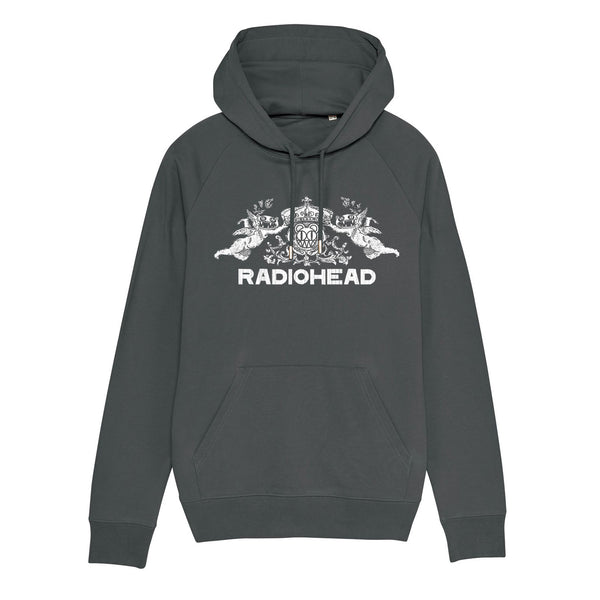 BEARHEAD CREST ANTHRACITE HOODY