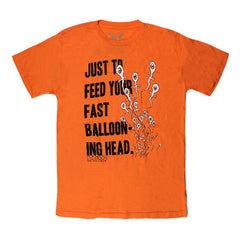 BALLOONING HEAD ORANGE T-SHIRT