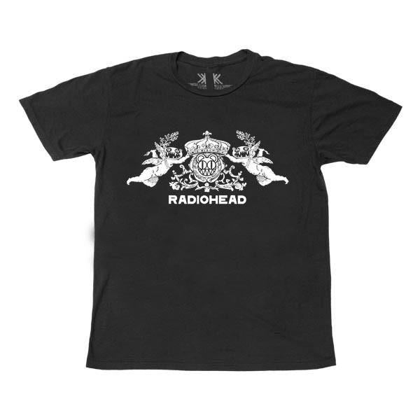 BEARHEAD CREST BLACK T-SHIRT