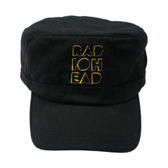 EMBROIDERED CUT OUT LOGO CAP