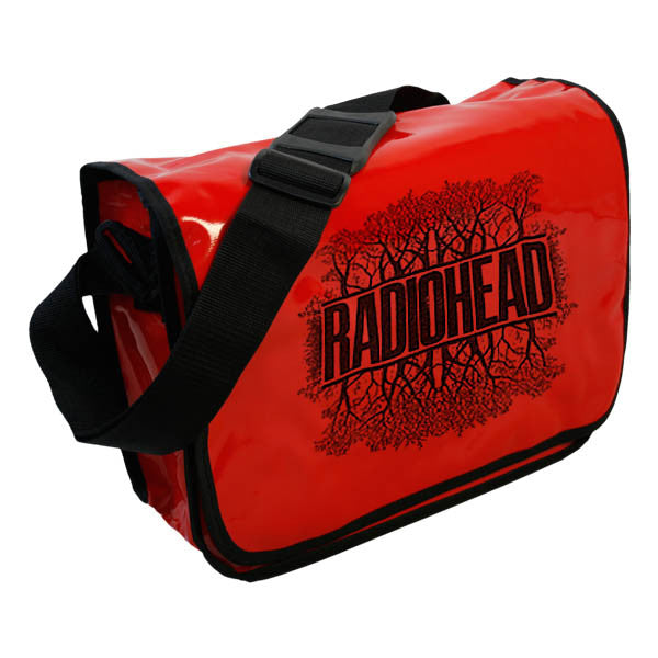 REFLECTION TREE MESSENGER BAG Red