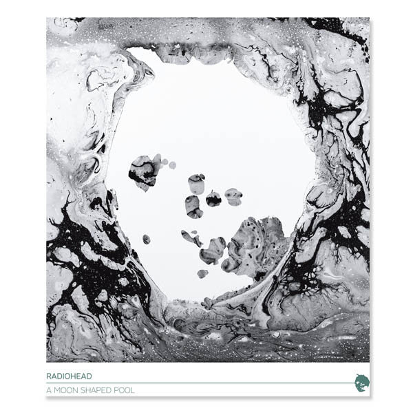 A MOON SHAPED POOL POSTER