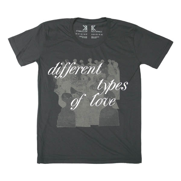LOVE  TOUR  BLACK T-SHIRT