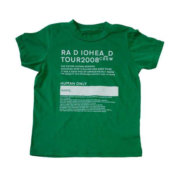GREEN 2008 CREW KIDS T-SHIRT
