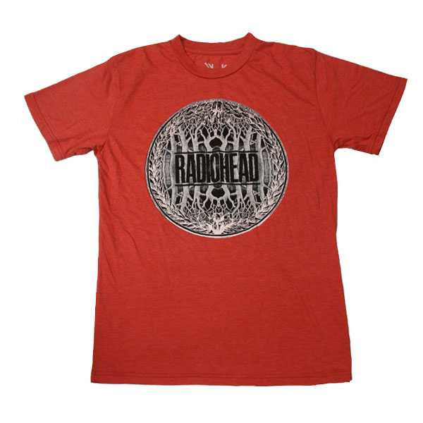 RED TREE CREST TEE