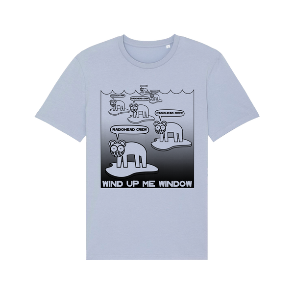 WIND UP ME WINDOW CREW SERENE BLUE T-SHIRT [Pre-Order]