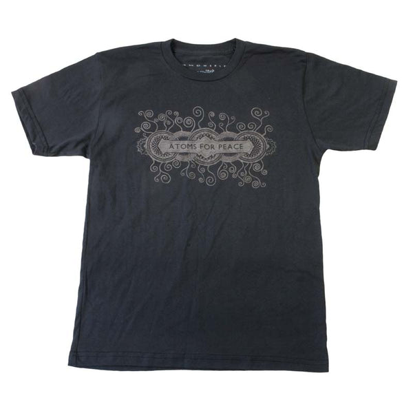 MENS BLACK TOUR DATE TEE
