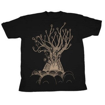 'REPLACEMENT TREE' BLACK T-SHIRT