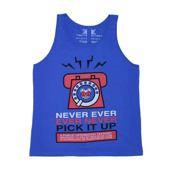 PICK IT UP BLUE VEST