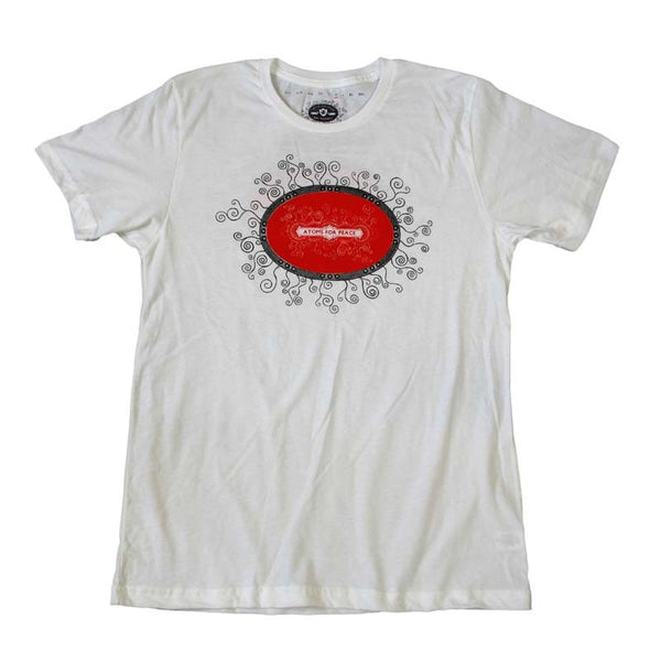 MENS WHITE TOUR DATE TEE