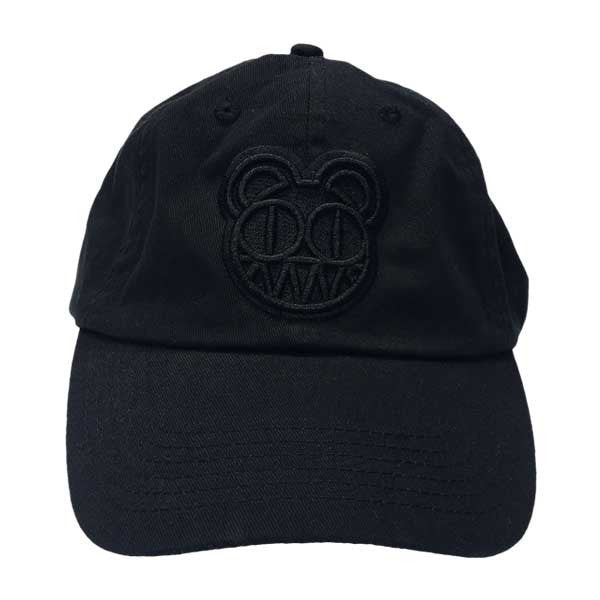 BEARHEAD EMBROIDERED BLACK DAD HAT