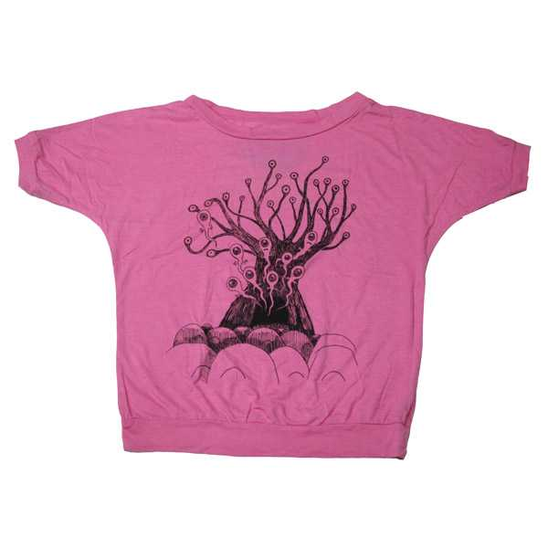 PINK 'REPLACEMENT TREE' DOLMAN