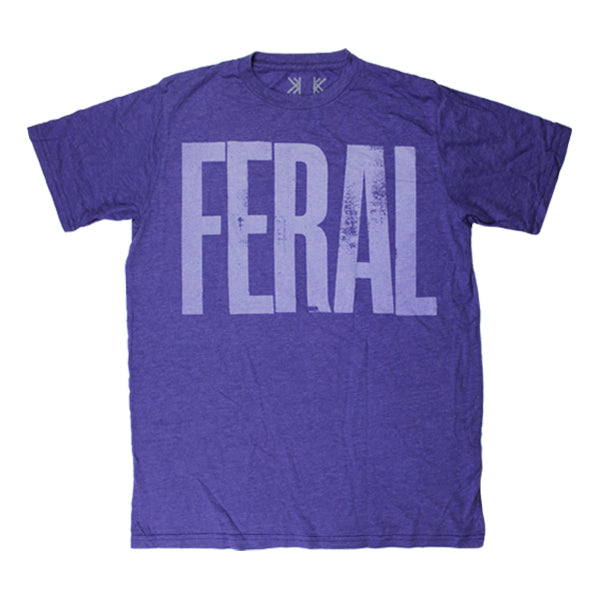 FERAL PURPLE T-SHIRT